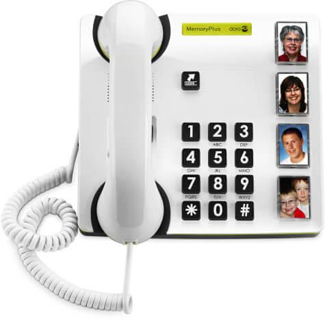 MemoryPlus är en trådbunden telefon som har enkelhet som utgångspunkt.