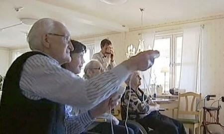 Wii-boxande hos svenska äldreboenden